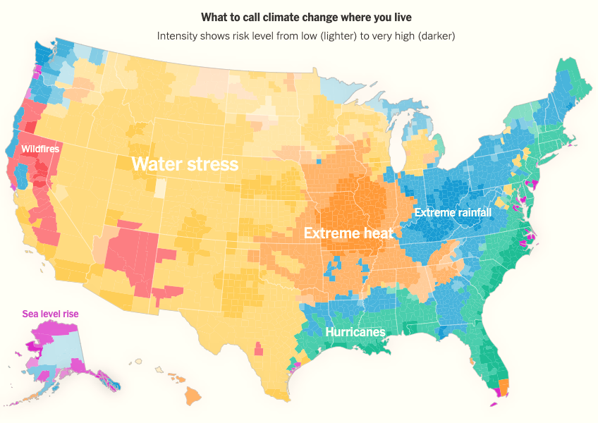 Every Place Has Its Own Climate Risk. What Is It Where You Live?