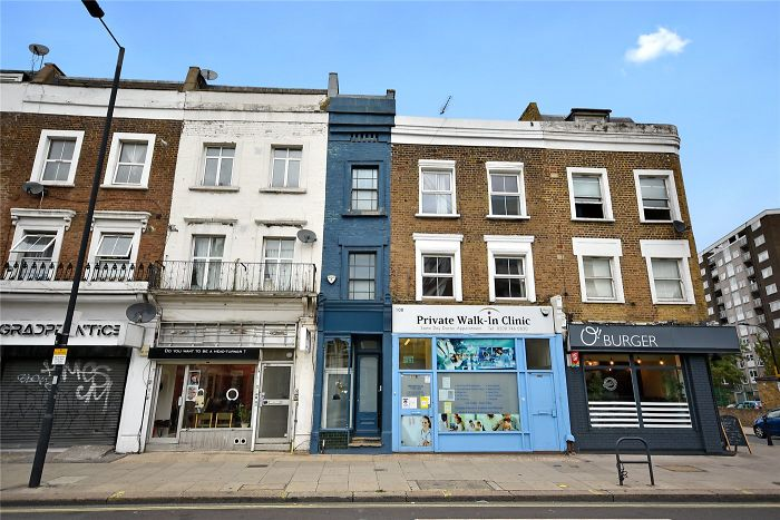 Here's London's Narrowest Home At Only 5 Feet, 5 Inches Across And It's Currently On The Market For Nearly $1.3M