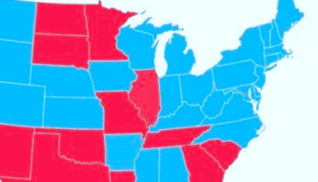 Each State's Preference For Being Hot Or Cold, Mapped