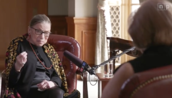 Listen To Ruth Bader Ginsburg Speak About Her  Regrets, And Recall The Journey From Law School To The Supreme Court