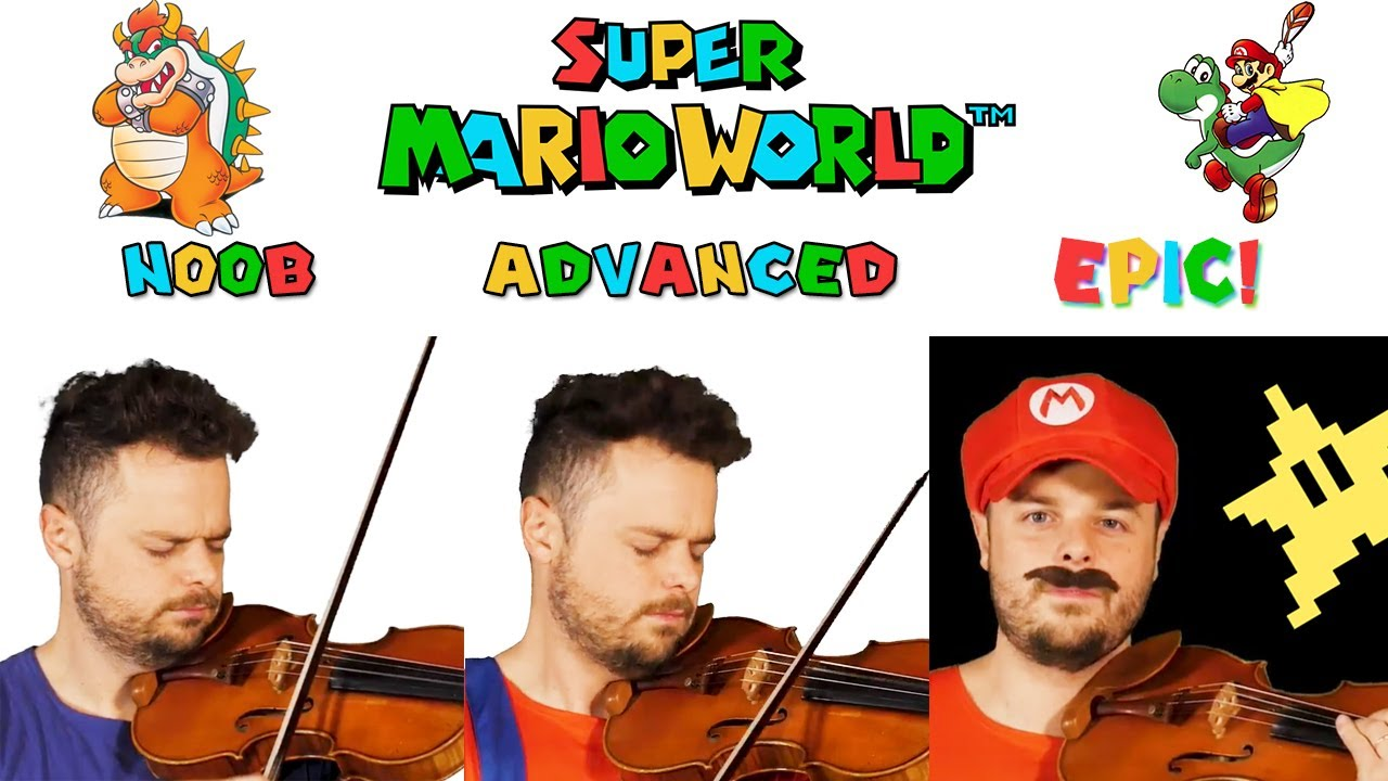 Hear Five Renditions Of The 'Super Mario World' Theme, From Amateur To Epic