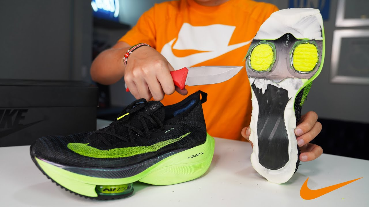 Take A Look Inside Nike's Fastest Running Shoe