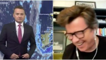 BBC Weather Broadcaster Says He Isn't A Fan Of Rick Astley On Air, Doesn't Realize Astley Is Listening In