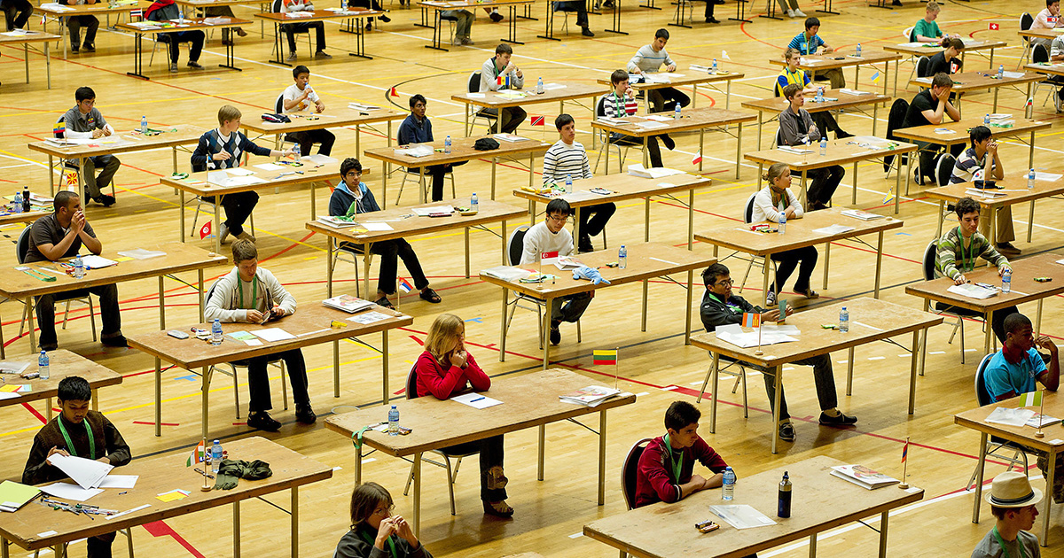 At The Math Olympiad, Computers Prepare To Go For The Gold