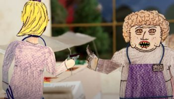 Some Guy Spent Two Years Making This Stop-Motion Animated Short About Two Lunch Ladies Going Postal, And...