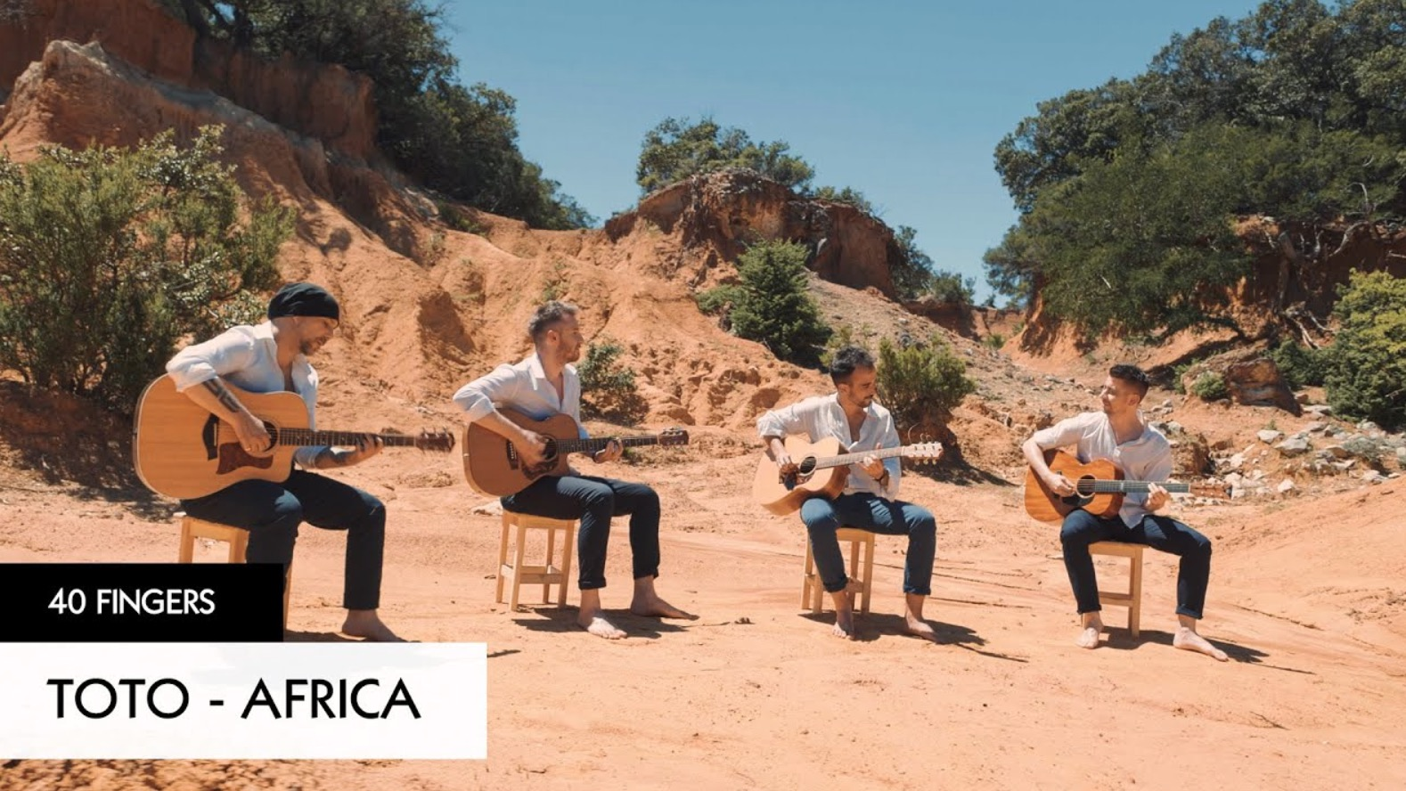 Here's A Mesmerizing Cover Of Toto's 'Africa' By A Guitar Quartet