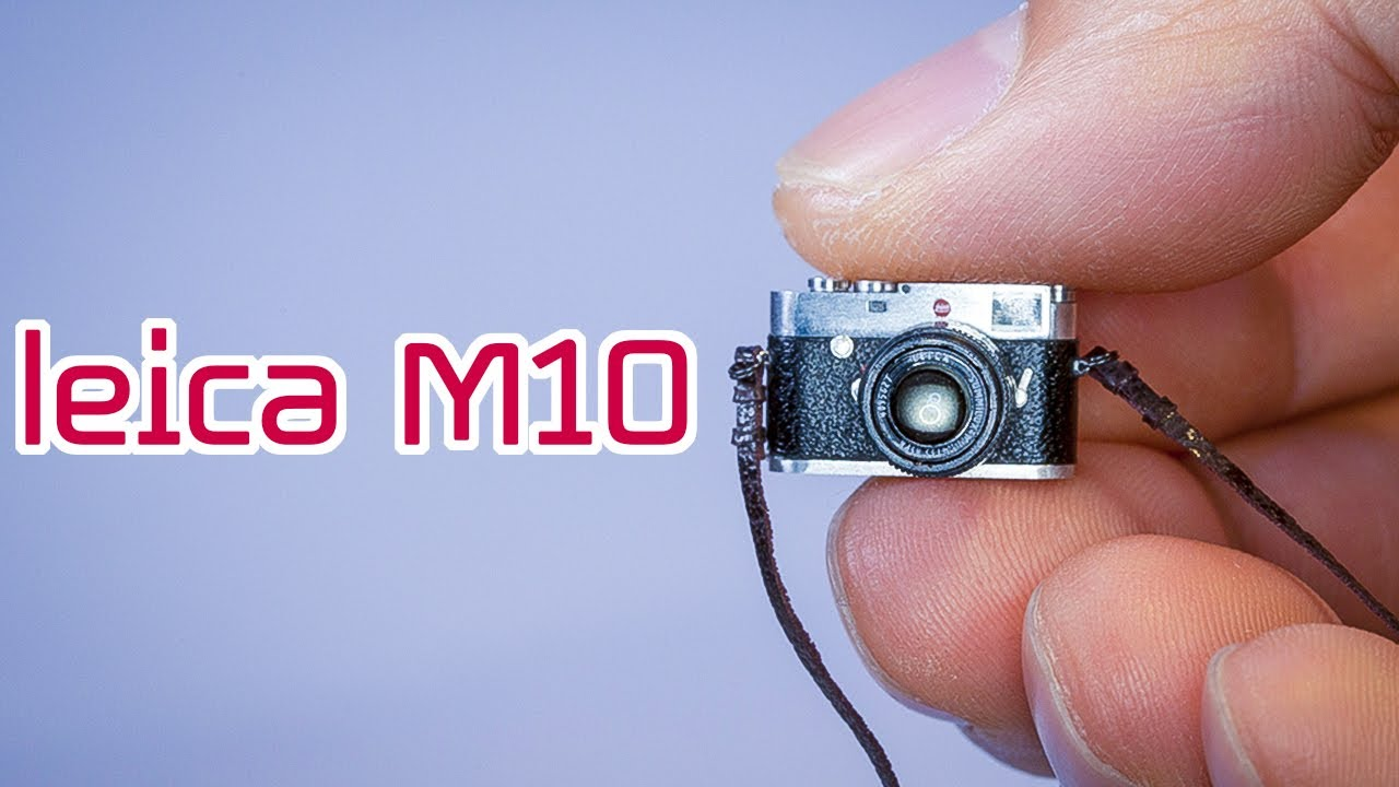 Watch A Miniature Model Maker Craft A Teeny-Tiny Camera From Scratch