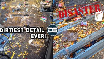 This Man Performed An Extraordinary Deep Clean On The Dirtiest Vehicle He's Ever Seen, And It's Oddly Satisfying