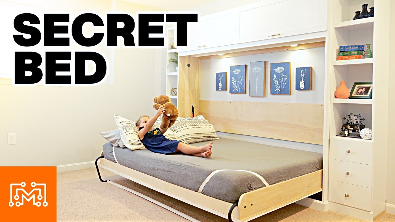 Here's How You Add A Secret Bed To A Room