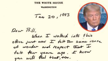 These Letters From Presidents To Their Successors Show What A Peaceful Transfer Of Power Looks Like