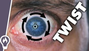 Here's How You Can Twist Your Eye Around Your Pupil
