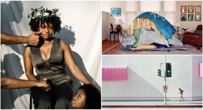 Homeless Shelters In Rich People's Living Rooms, And Other Best Photography Of The Week