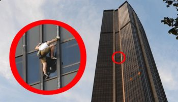 YouTuber Climbs Up The Facade Of The Tour Montparnasse, One Of The Tallest Buildings In Paris