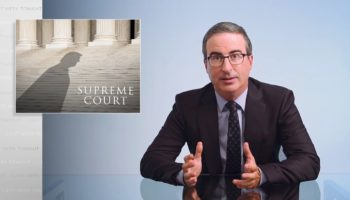 John Oliver Doesn't Mince Words On The Future Of The Supreme Court: 'We Lost'