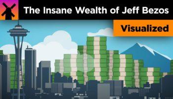 Jeff Bezos's $204 Billion Dollar Fortune, Visualized
