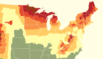 When To Expect Peak Fall Foliage Across The United States, Mapped