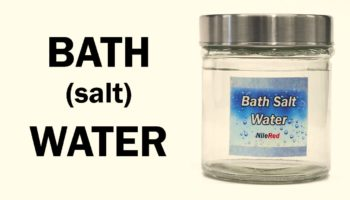 How Epsom Salt Is Weirdly Made Up Mostly Of Water