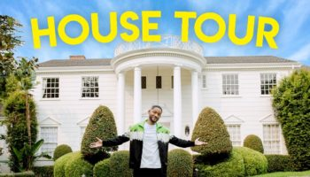 Will Smith Gives A House Tour Of The 'Fresh Prince Of Bel-Air' Mansion
