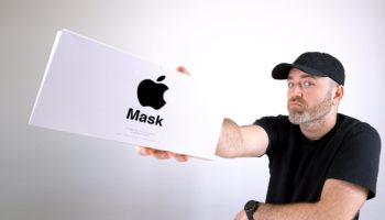 Unboxing The Face Mask That Apple Designed For Its Own Employees