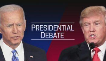 Watch The First Presidential Debate Between Donald Trump And Joe Biden