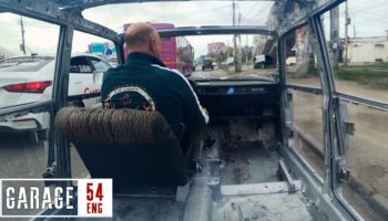 Mechanic Makes The World's First Transparent Russian Compact Car