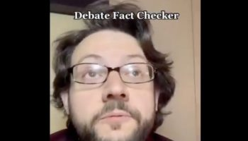 Guy Envisions What It Must Be Like To Be A Fact-Checker At A Presidential Debate