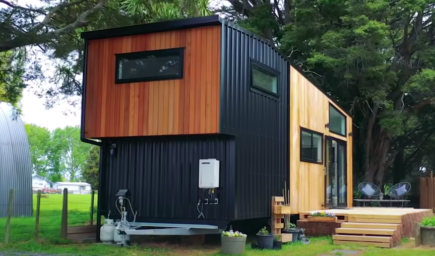 This Tiny House In New Zealand Is Really One-Of-A-Kind