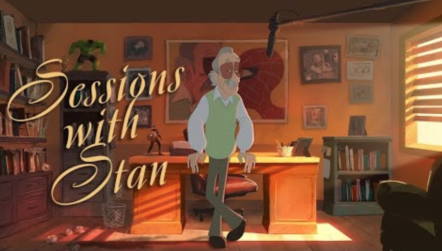 Someone Recorded Stan Lee Hilariously Praising The F-Word And Gorgeously Animated It