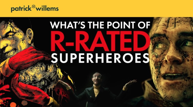 What's The Point Of Making Superheroes For Adults?