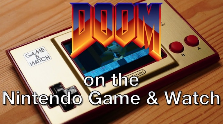 Someone Hacked A 'Super Mario Bros.' Game & Watch To Play 'Doom'