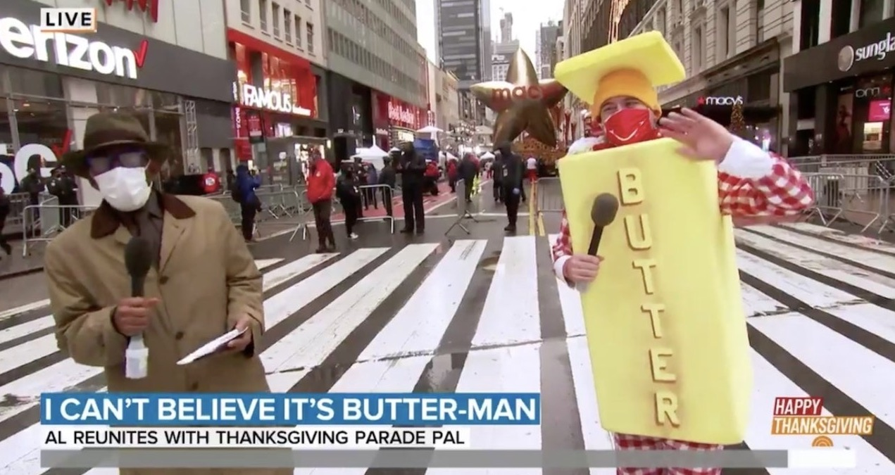 Al Roker Reunites With Butter Man In Heartwarming Macy's Thanksgiving Day Parade Moment