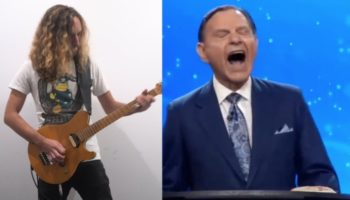 Someone Gave Kenneth Copeland's Maniacal Laughter A Heavy Metal Guitar Accompaniment, And It Kind Of Slaps