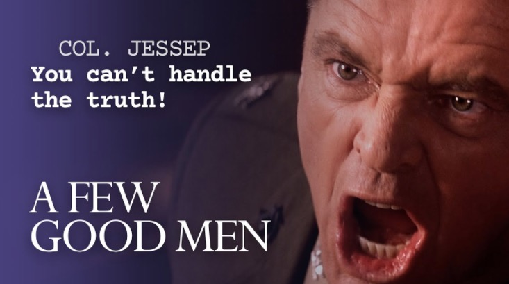 How The Screenplay From 'A Few Good Men' Took The  Legendary Courtroom Climax To The Next Level