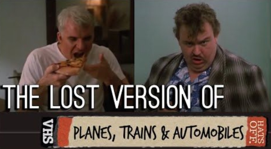 'Planes, Trains And Automobiles' Superfan Attempts To Cobble Together Unused Footage To Present What's In The Long-Lost Director's Cut