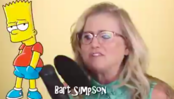 Here Are All The Voices Voice Actress Nancy Cartwright Does On 'The Simpsons' In 40 Seconds