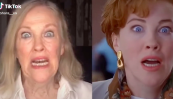 Actress Catherine O'Hara Recreates Iconic Scene In 'Home Alone,' Fully Commits To The Bit
