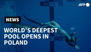 This Is What The World's Deepest Diving Pool Looks Like