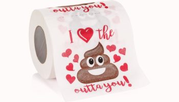 Nothing Says 'I Love You' Quite Like Toilet Paper