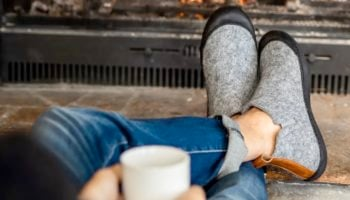 Invest In These Indoor-Outdoor Slippers, And Keep 'Em On Until Spring Arrives