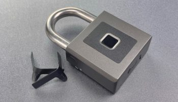 All You Need To Break This 'Warehouse Digital Padlock' Is Padlock Shims