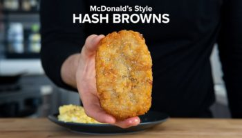 Here's How To Recreate McDonald's Trademark Hash Browns At Home