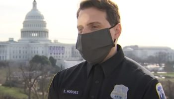 DC Officer Drops Mic On Capitol Rioters: 'It Was Absolutely My Pleasure To Crush A White Nationalist...