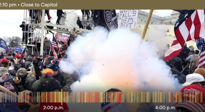 What Parler Saw During The Attack On The Capitol