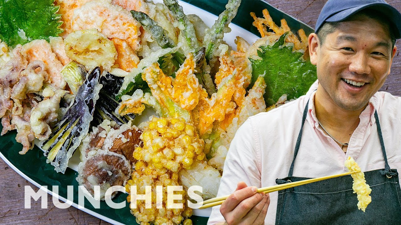Learn How To Make The Perfect Tempura At...
