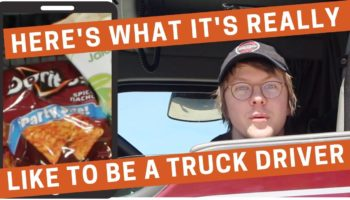 Here's A Behind-The-Scenes Look At What It's Like To Be A Truck Driver