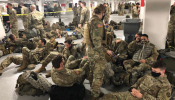 'We Feel Incredibly Betrayed': Thousands Of Guardsmen Forced To Vacate Capitol