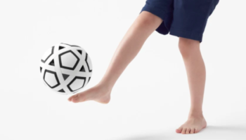 The Soccer Ball Gets A Radical Redesign