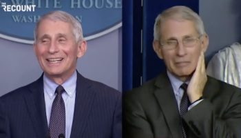 Here's A Video Of Dr. Fauci At A Biden COVID Task Force Briefing Versus A Trump One