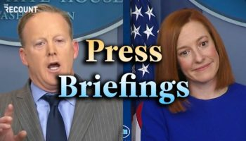 Here's The Difference Between The First Day Of The Trump Administration's Press Briefings Versus The Biden Administration
