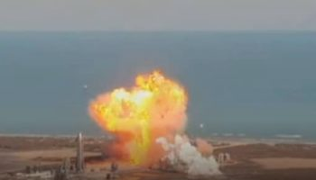 Watch The SpaceX SN9 Mars Rocket Prototype Crash And Burn After Successful Launch